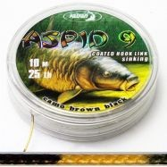 Coated Braided Hook links Aspid 9 25lb
