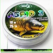 Coated Braided Hook link Aspid 3 25lb